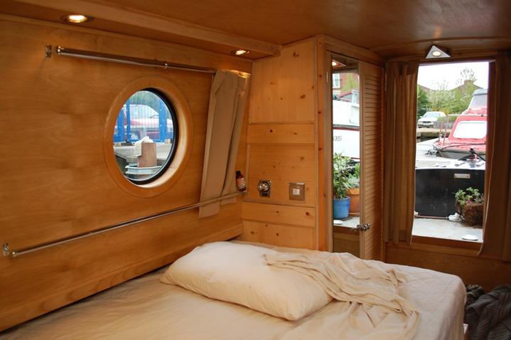 Narrowboat Bedroom Harrison Fine Woodwork Lee