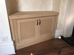 Gas meter cupboard
